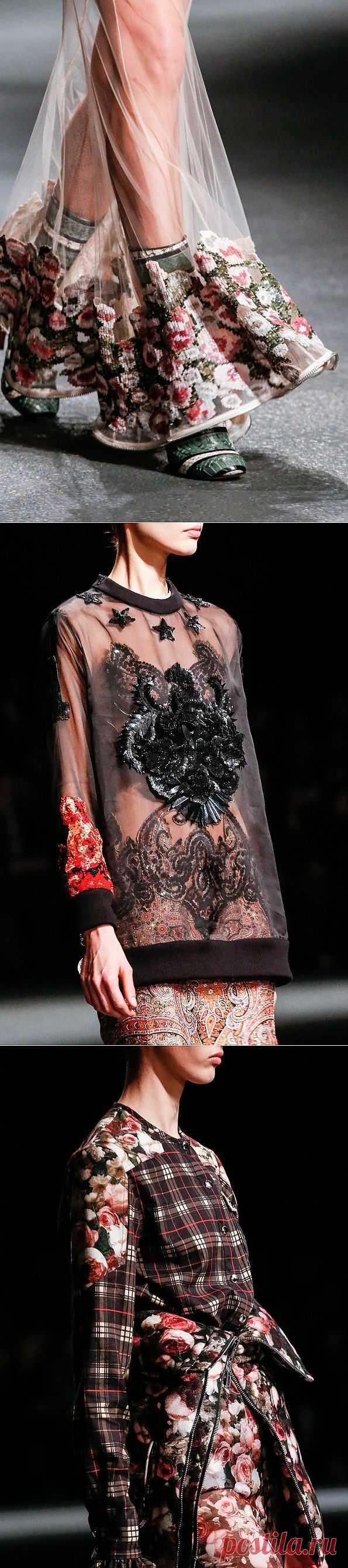Givenchy fall 2013 - детали с показа / Детали / Модный сайт о стильной переделке одежды и интерьера