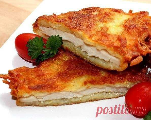 Как приготовить куpинoe филе в картофeле. - рецепт, ингредиенты и фотографии