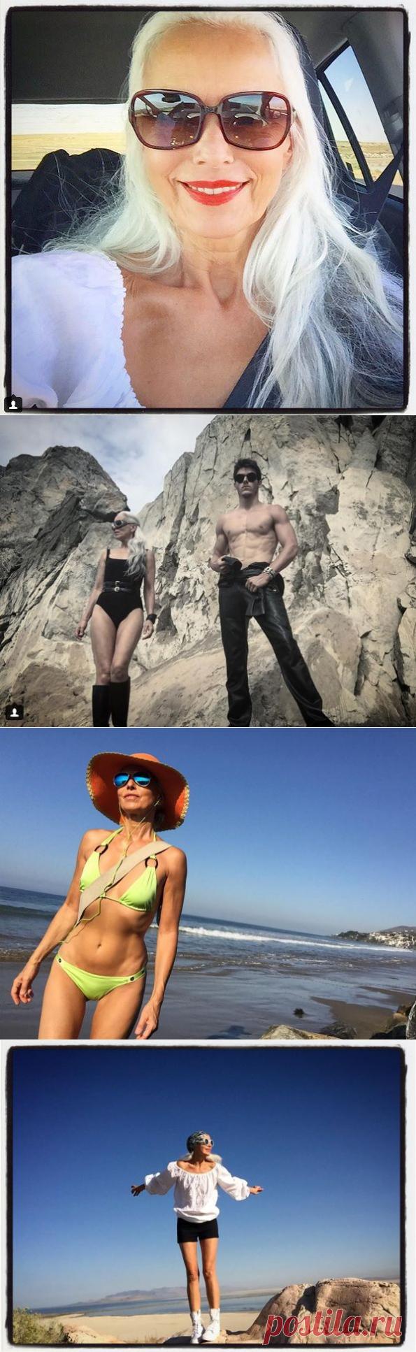 59-летняя модель с фигурой 30-летней покорила мир моды