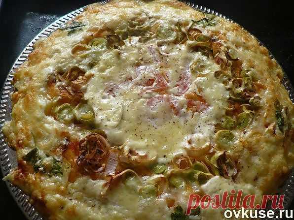 Овощной пирог с сыром - Простые рецепты Овкусе.ру