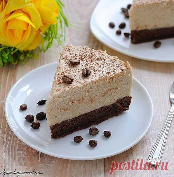 Кофейный торт-мусс.