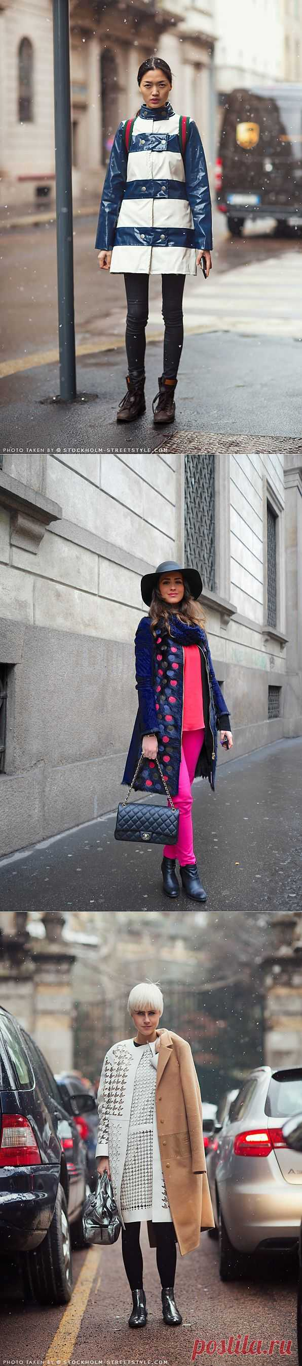 Утепляемся... (подборка) / Пальто и плащ / Модный сайт о стильной переделке одежды и интерьера