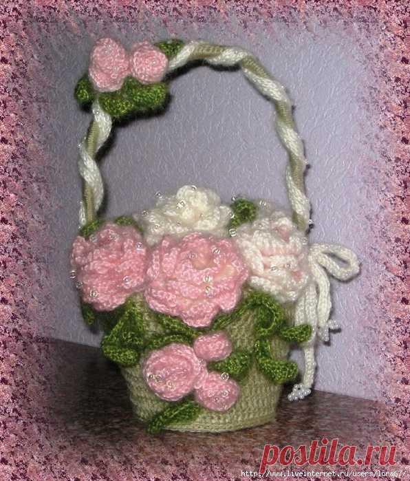 цветы крючком и спицами | Записи в рубрике цветы крючком и спицами | Вдохновлялочка Марриэтты