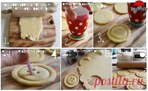 Печеньки-пуговки (идея для оформления)