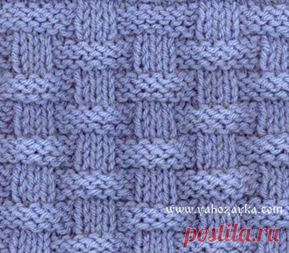 узор плетенка спицами схема узоры для пледа спицами узор плетенка