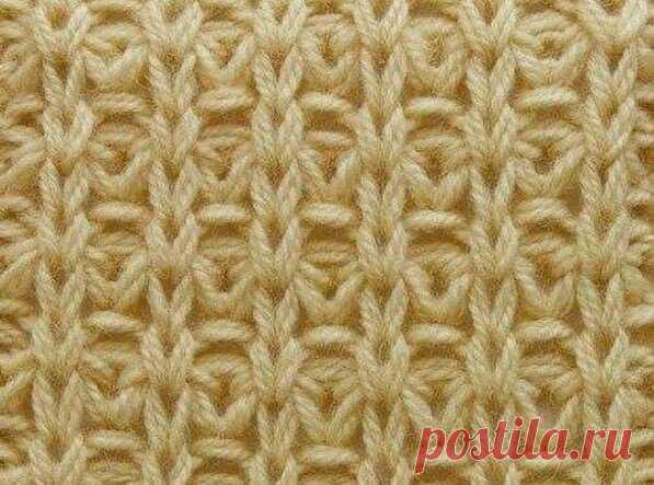 Красивый узор спицами для вязания плотных вещей. Описание вязания в вашу копилочку   Вязание с Аленой Липницкой   Яндекс Дзен