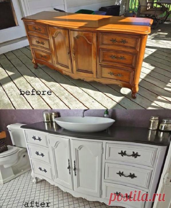 В переделку или на дрова? Вторая жизнь старой мебели