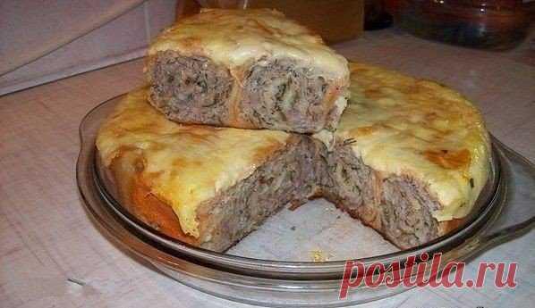 Мясной пирог из лаваша. И никто не догадается по великолепному вкусу, насколько он прост!