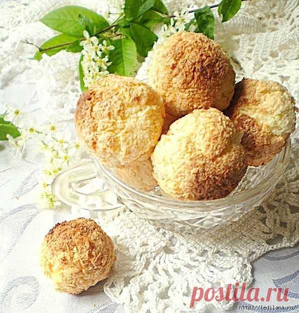 Печенье «Кокосовые шарики».