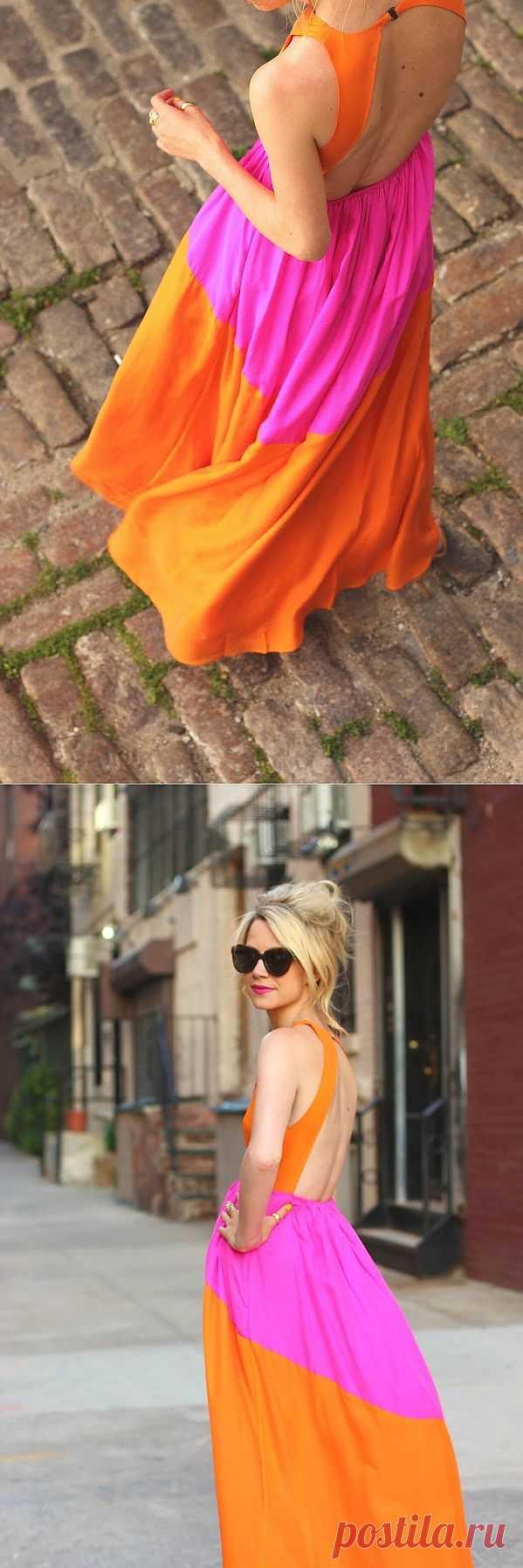 Красивое платье / Декор спины / Модный сайт о стильной переделке одежды и интерьера