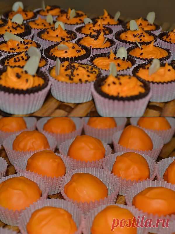 Эксперименты с апельсиновым шоколадом