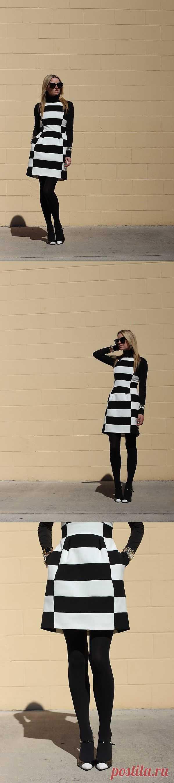 Платье шахматной королевы / Платья Diy / Модный сайт о стильной переделке одежды и интерьера