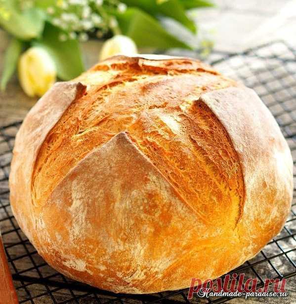 Домашний хлеб в духовке. Рецепт