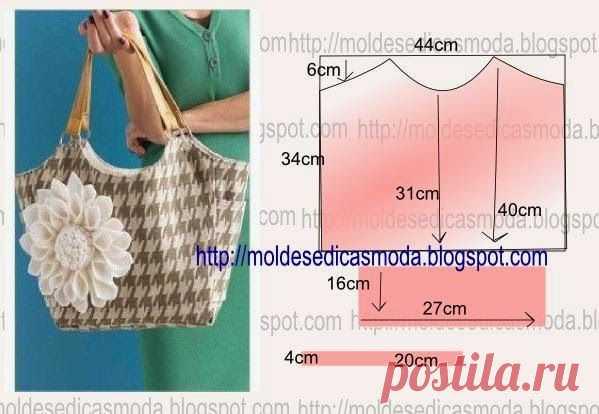 32b94669f2b4 Выкройки и идеи простых сумок и рюкзаков / Сумки, клатчи, чемоданы / ВТОРАЯ  УЛИЦА