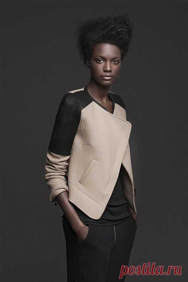 Куртка с кожей ZARA / Курточные переделки / Модный сайт о стильной переделке одежды и интерьера