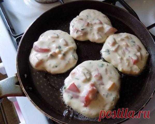 Завтрак-ФУРОР: Оладьи со вкусом пиццы — 🍎 Сад Заготовки