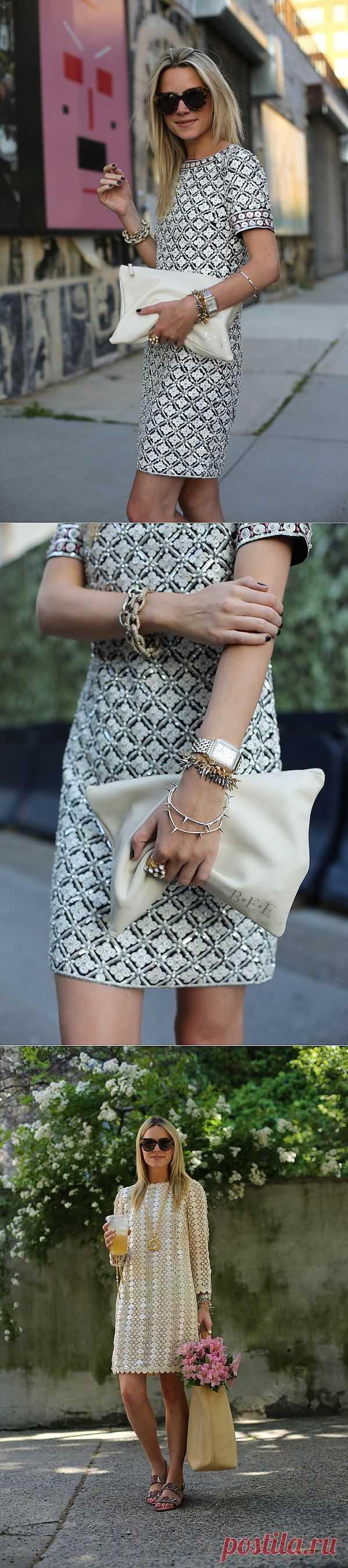 Платье с пайетками +1 / Нарядно / Модный сайт о стильной переделке одежды и интерьера