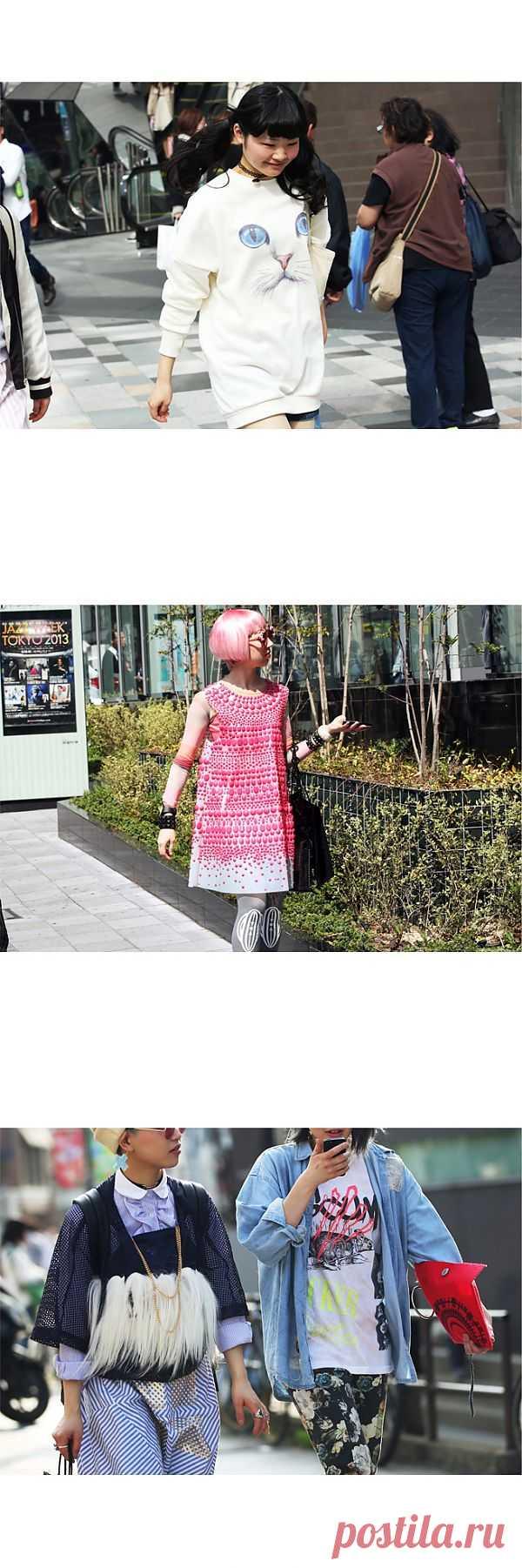 Токио Street Style (подборка) / Street Style / Модный сайт о стильной переделке одежды и интерьера