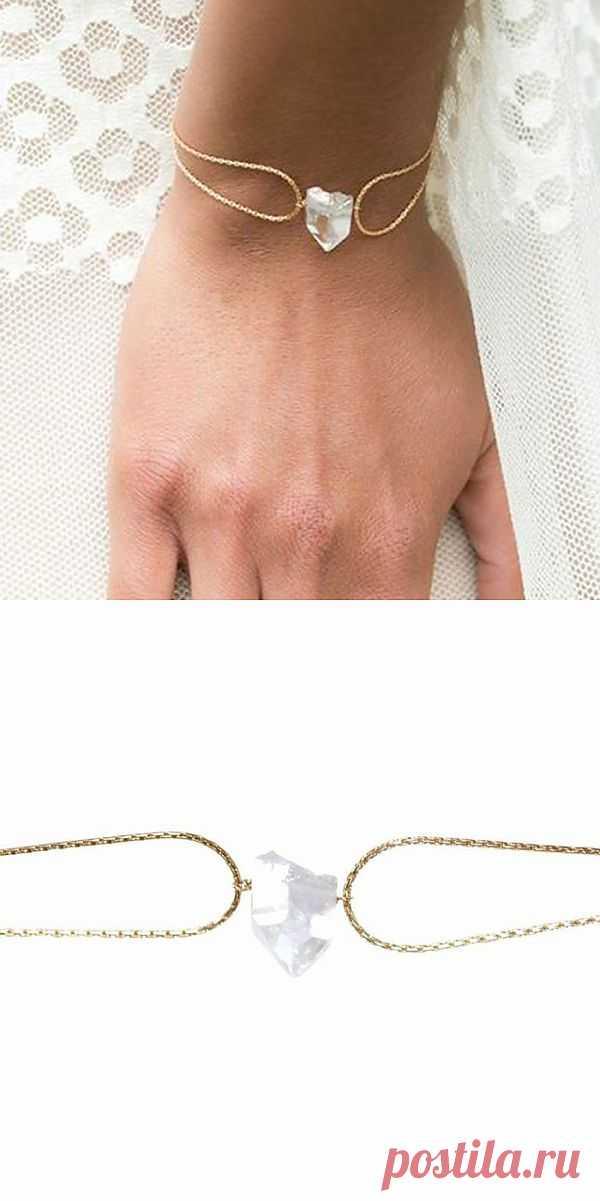 Необычно лаконичный браслет / Украшения и бижутерия / Модный сайт о стильной переделке одежды и интерьера