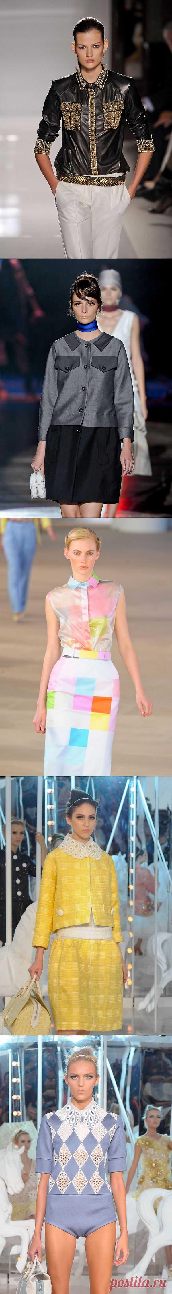 Декор с подиума (трафик) / Декор / Модный сайт о стильной переделке одежды и интерьера