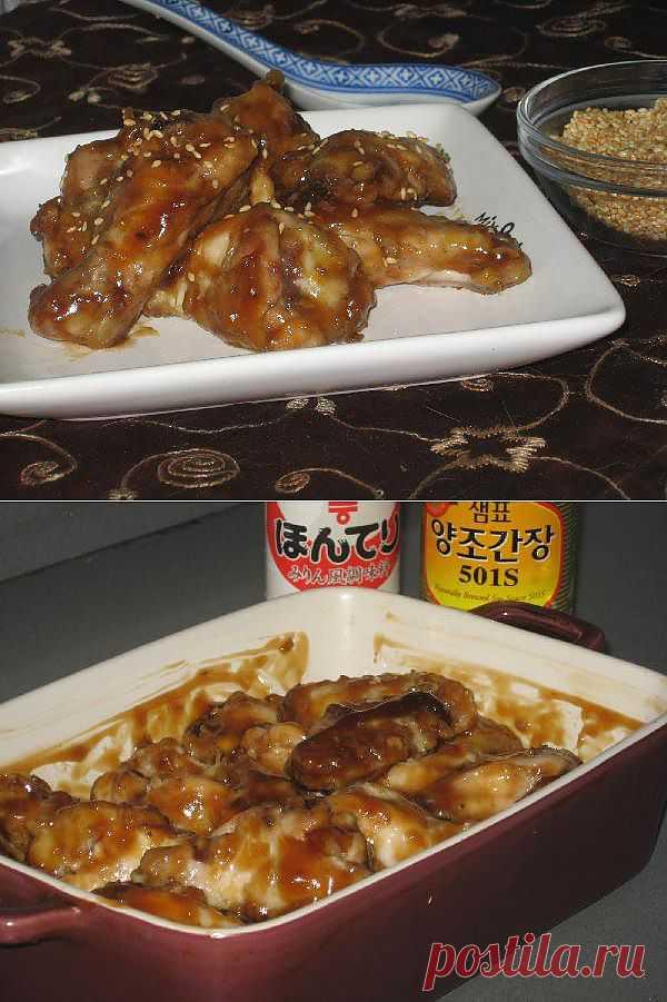 Крылышки по-шанхайски — рецепт с пошаговыми фото. Foodclub.ru