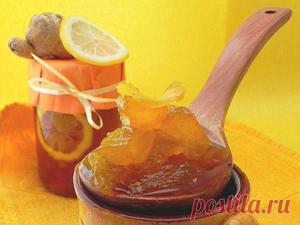 La confitura de jengibre — la receta de las postillas invernales | Cocemos y cocemos