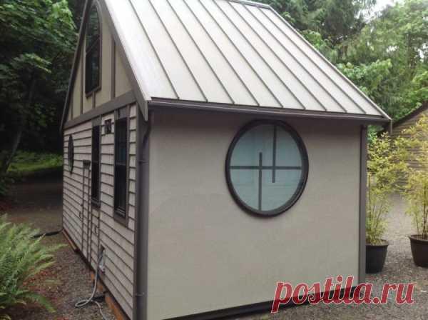Этот домик построен на 18 кв.м, но вы только посмотрите что внутри!