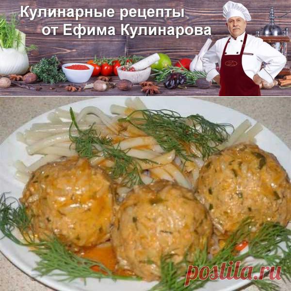Рыбные тефтели с сыром в духовке, рецепт с фото   Вкусные кулинарные рецепты