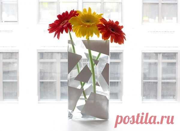 Ваза имени Пикассо (DIY) / Цветы / Модный сайт о стильной переделке одежды и интерьера
