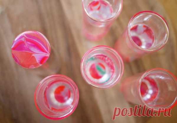 Сделай сам: оригинальные стаканы