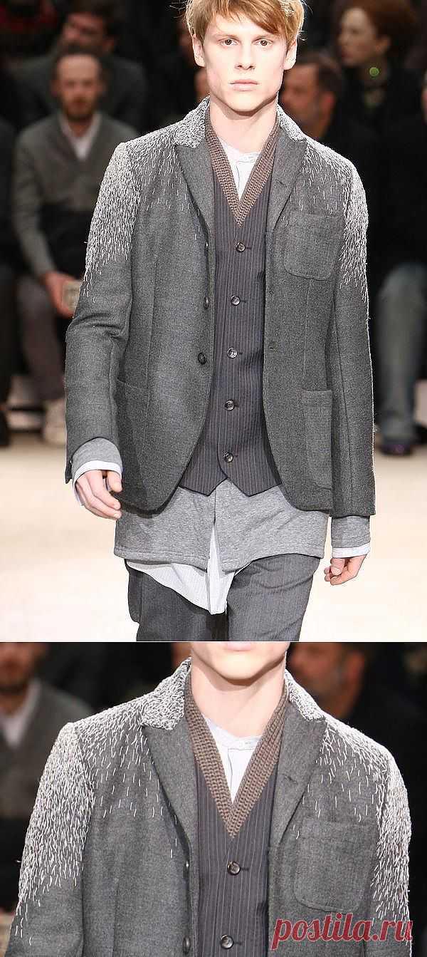 Фактурная намётка / Вышивка / Модный сайт о стильной переделке одежды и интерьера