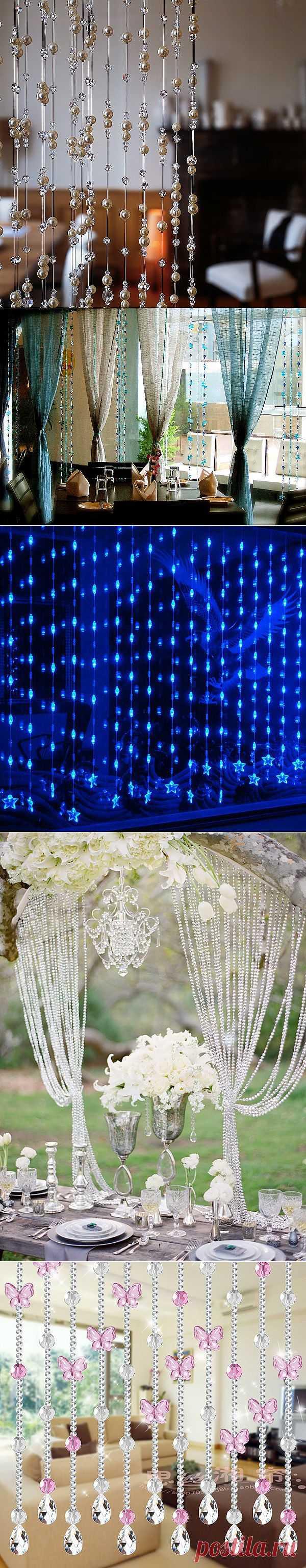 Нитяные шторы снова на пике моды | Ladies venue