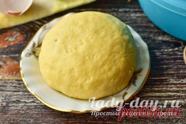 Сдобное тесто для пирожков без опары и замеса, рецепт с фото пошагово | Простые рецепты с фото
