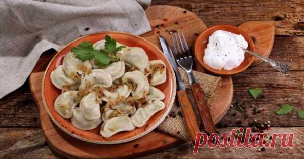 Вареники с картошкой — Вы влюбитесь в это тесто для вареников — Вкусный и простой рецепт!