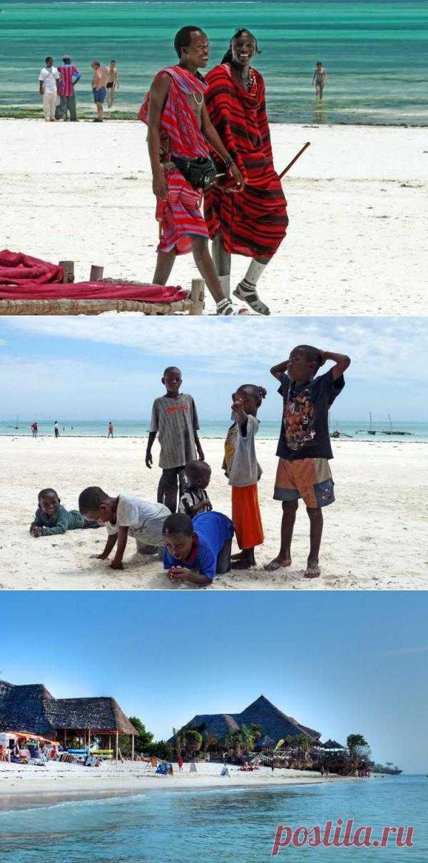 Занзибар - острова специй, пиратов и крупнейший (в прошлом )центр работорговли. Пляжи Занзибара - сказочное место. Здесь расположены живописные рыбачьи деревни с людьми, ведущих простую жизнь, которая не меняется годами