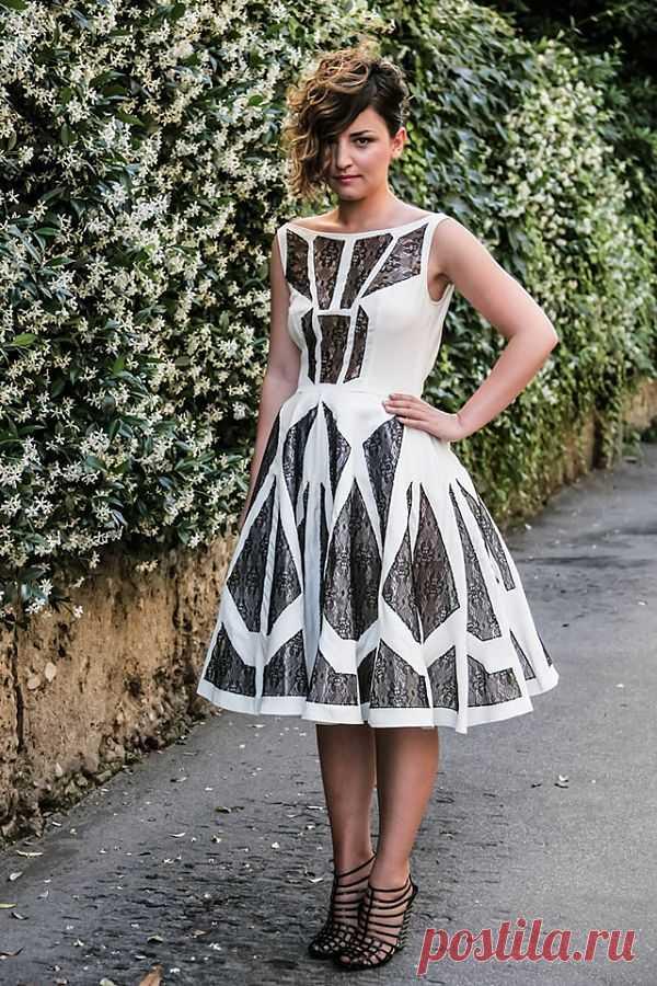Осколки витража / Платья Diy / Модный сайт о стильной переделке одежды и интерьера