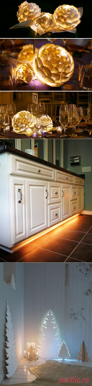 Примеры использования светодиодных лент — Pro ремонт