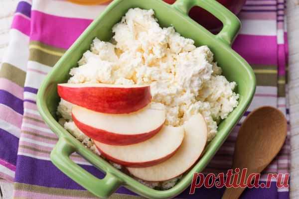 Худеем и очищаемся: Творожно-яблочная диета для похудения