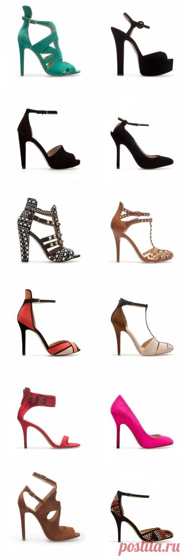 Бренд Zara представил коллекцию обуви весна-лето 2013