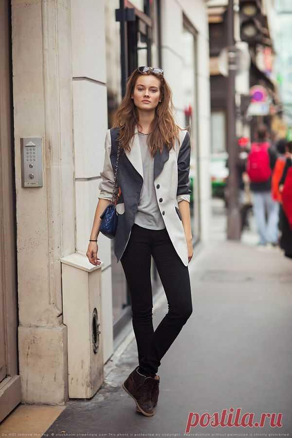 Интересный блейзер / Street Style / Модный сайт о стильной переделке одежды и интерьера