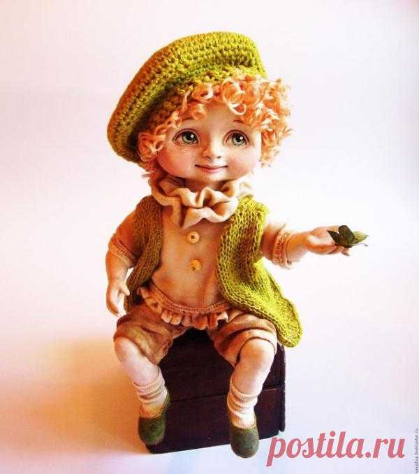 Мастер-класс по созданию куклы ЛЕТИ! Как по мне, то просто шикарная кукла))) Добрая, солнечная, нежная)))