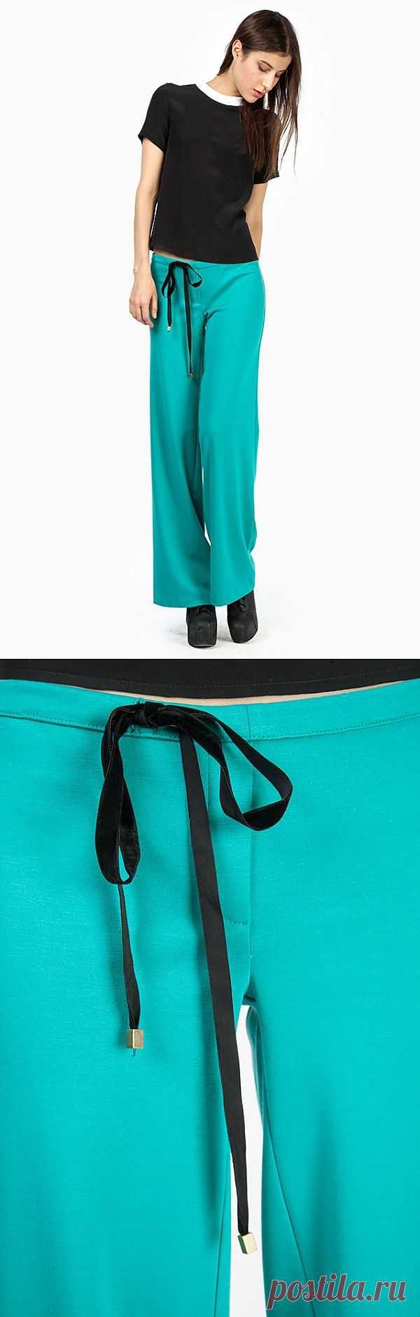 Брюки Libellulas / Детали / Модный сайт о стильной переделке одежды и интерьера