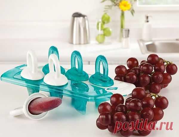 Соску давно забросили, а зря. Вот такие забавные контейнеры для фруктового льда понравятся не только детям. $12 USD