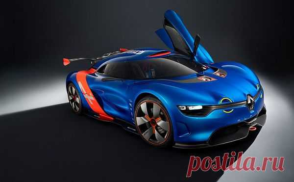 Спортивный концепткар от Renault Alpine