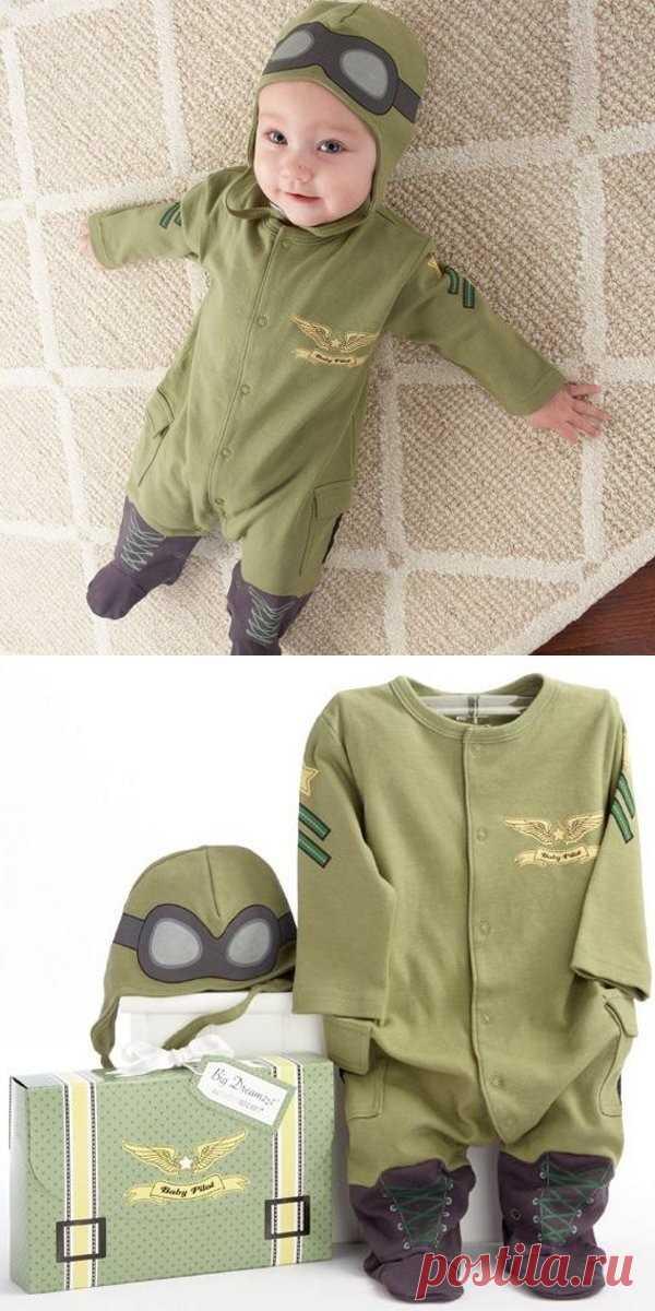 Для тех кто шьёт: идея костюмчика летчика!