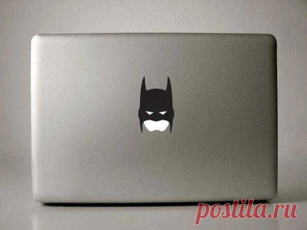 наклейка Бэтмана для макбука - $5 на Fancy