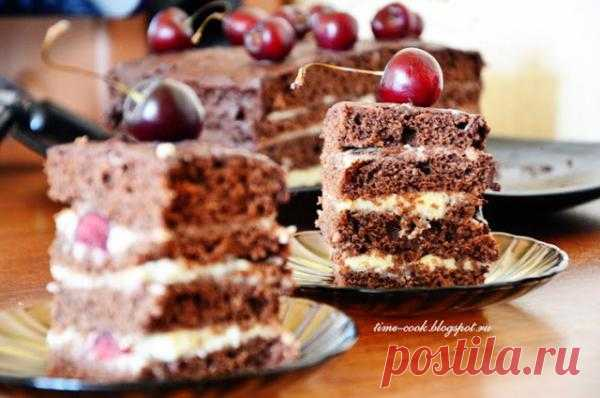 Мастерская на кухне: Черешня&шоколад - золотой дуэт!