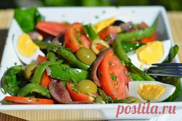 Салат Нисуаз — Привет, Кухонька! Пошаговые рецепты с фотографиями