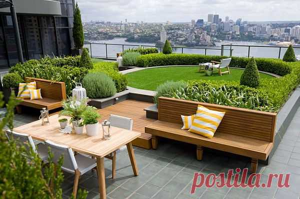 Сад на крыше в австралийском Сиднее | КрасиВО!!!