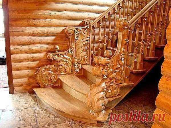 Лестница - загляденье!